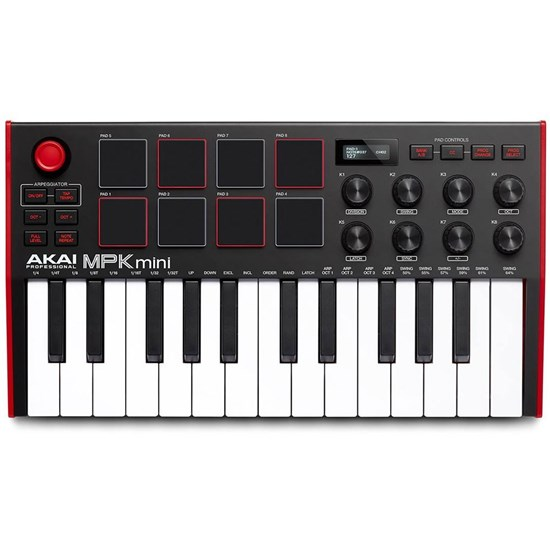 Akai MPK Mini mk3 Compact Keyboard & Pad Controller w/ Encoders & Software