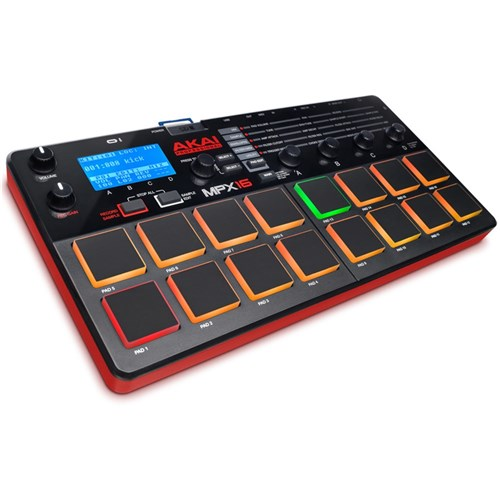 Akai MPX16 16 Pad Sample Recorder & Player