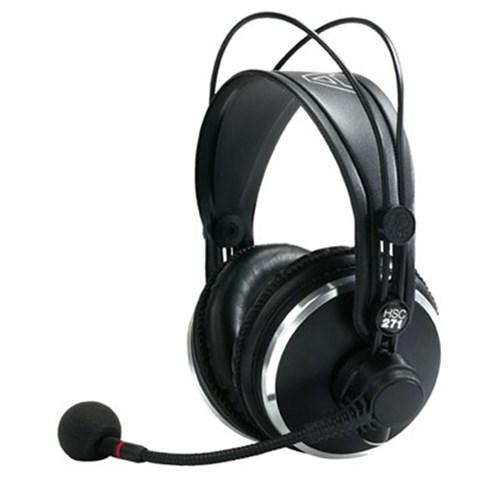 akg hsc271 headset w condenser mic no cable headset headphones store dj. Black Bedroom Furniture Sets. Home Design Ideas