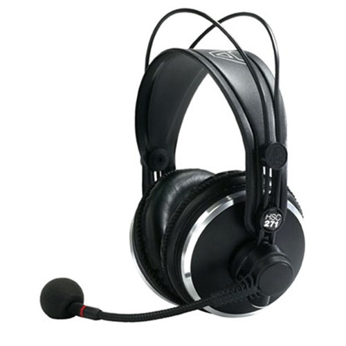 AKG HSC271 Headset w/ Condenser Mic (No Cable) | Headset