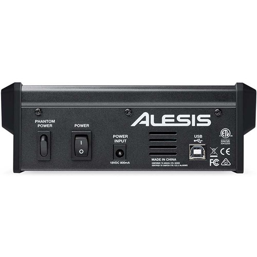 Alesis Multimix 4 Usb Fx Four Channel Usb Mixer W Fx