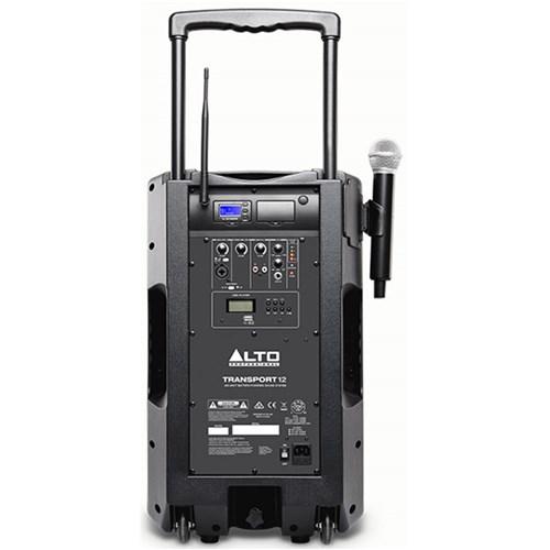 Alto Transport 12 400w Battery-Powered Sound System (638-662MHz)