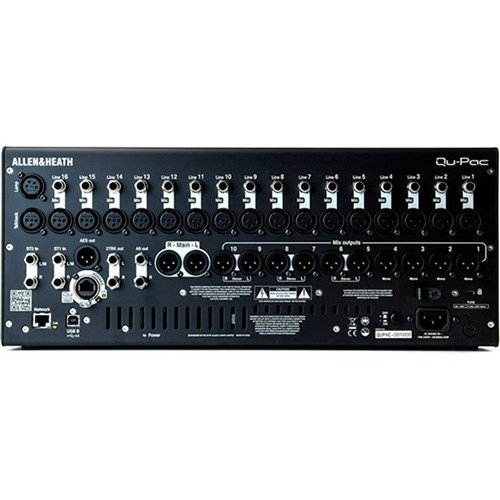 Allen & Heath QuPac Portable 22-In/12-Out Digital Mixer