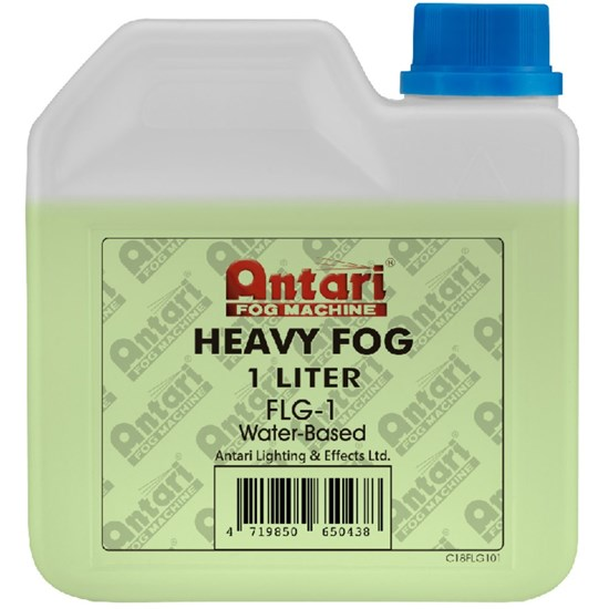 Antari Heavy Duty Smoke / Fog Fluid 1 Litre (Green Fluid)