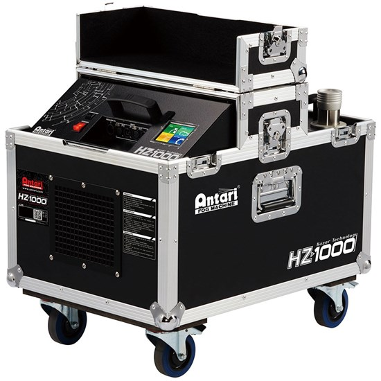 Antari HZ1000 Advanced Haze Machine w/ Flightcase/Casters On-Board Control, DMX & WDMX