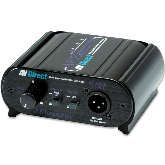 ART Pro Audio AV Direct Audio/Video Direct Box