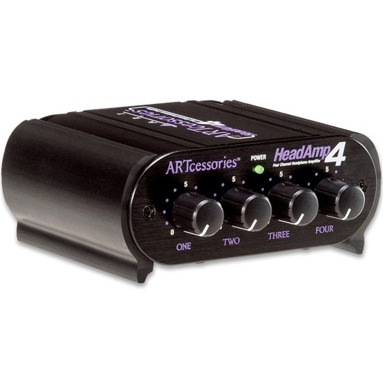 ART Pro Audio HeadAMP 4 8-Output Stereo Headphone Amp