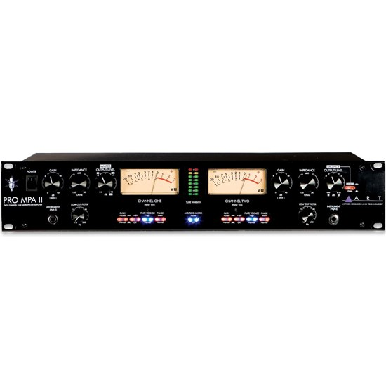 ART Pro Audio Pro MPA II Two Channel Mic Preamp