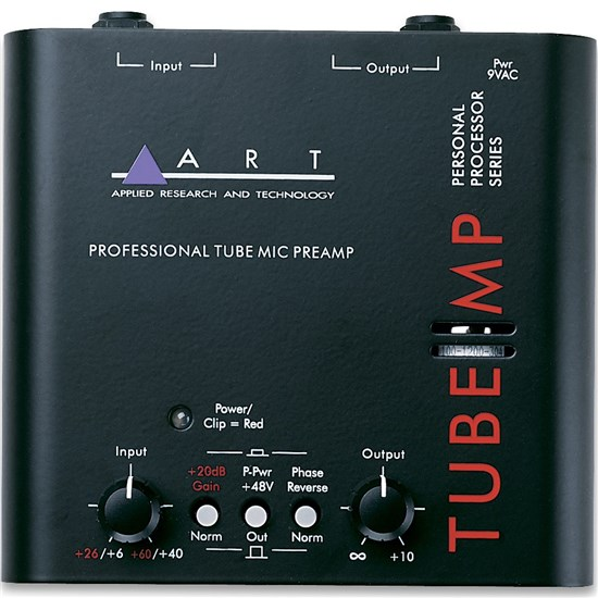ART Pro Audio Tube MP Professional Tube Mic Preamp