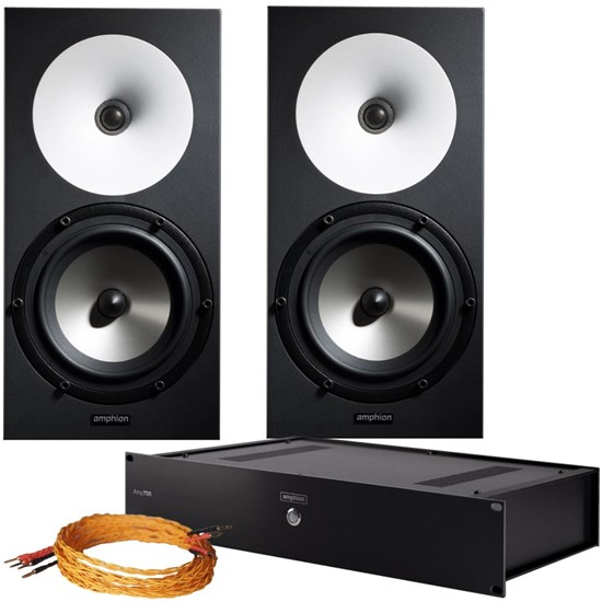 Amphion One18 Bundle Studio Monitoring Kit w/ 2x One18, 1x Amp100 & Cables