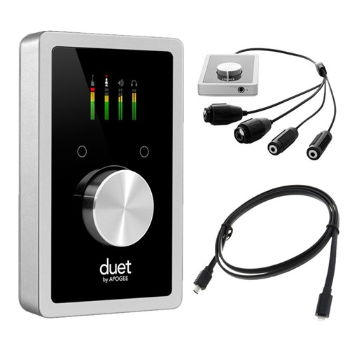 Apogee Duet Professional Audio Interface for Mac & iOS