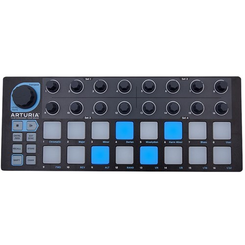 Arturia BeatStep Compact MIDI Controller & Sequencer (Limited Edition Black)