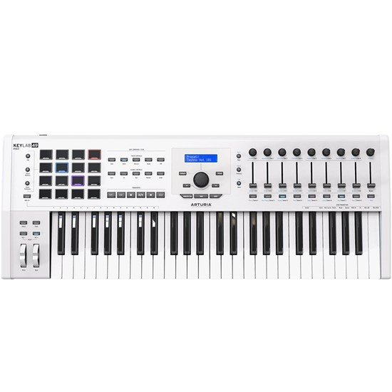 Arturia KeyLab 49 MK2 Ultimate MIDI Controller (White)