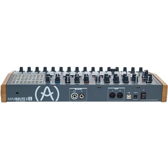Arturia MiniBrute 2S Desktop Analogue Hybrid Sequencer-Synth