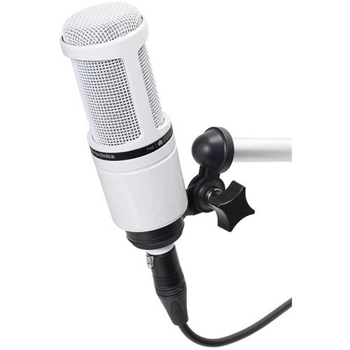 Audio Technica AT2020-WH Cardioid Condenser Mic (White)