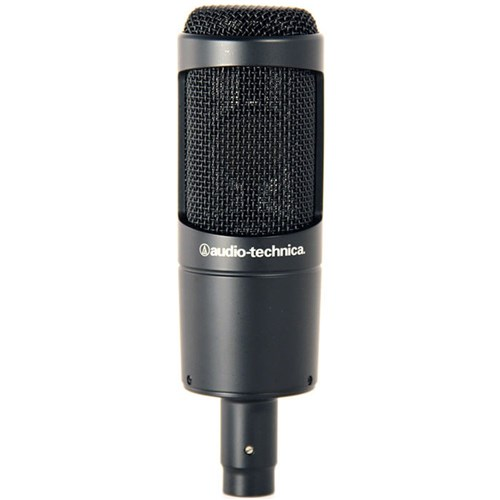 Audio Technica AT2035 Large Diaphragm Cardioid Condenser w/ Shock Mount & Pouch