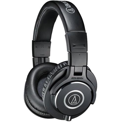 Audio Technica ATH M40x Studio Headphones (Black)  51bd0d5d2f