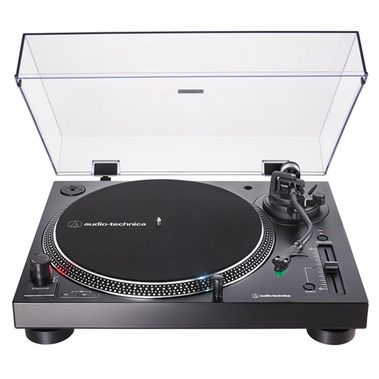 Audio Technica LP120xUSB Direct-Drive Turntable w/ VM95E Cartridge (Black)