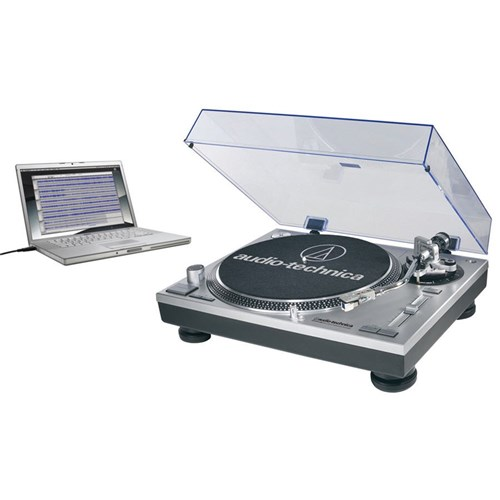 Audio Technica LP120 USB Turntable (Silver)