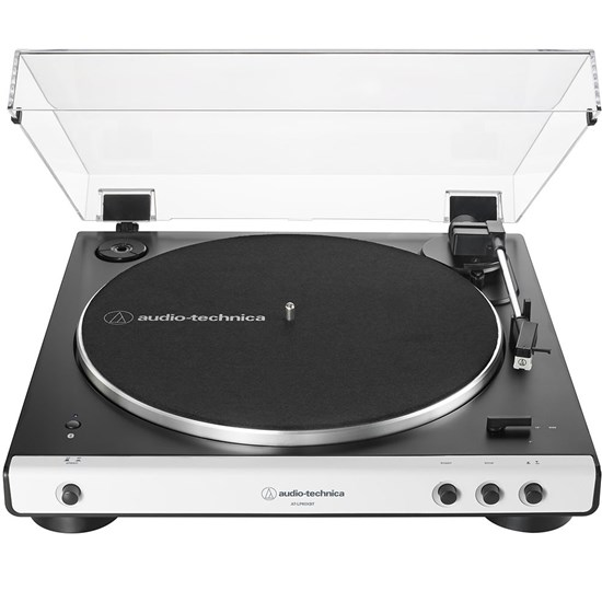 Audio Technica LP60X BT Belt Drive Turntable w/ Built In Preamp & Bluetooth  (White)