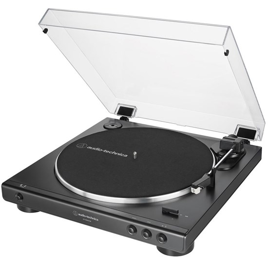 Audio Technica LP60X USB Belt Drive Turntable w/ Built In Preamp & USB (Black)