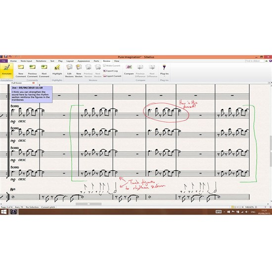 Sibelius Music Notation Software w/ Annual Upgrade Plan