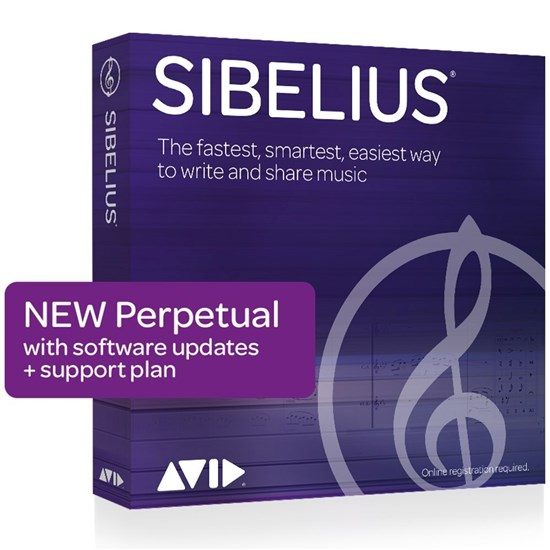 Avid Sibelius Perpetual License - NEW (Electronic Delivery)