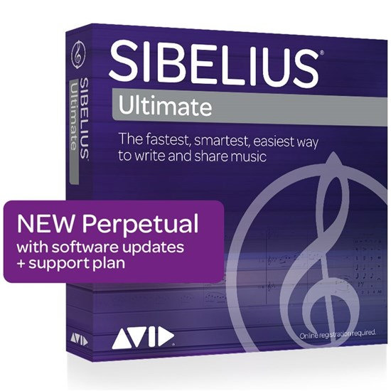 Avid Sibelius Ultimate Perpetual License - NEW (Electronic Delivery)