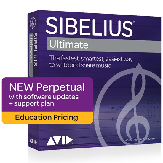 Avid Sibelius Ultimate Perpetual Licence (EDU Student/Teacher Version)