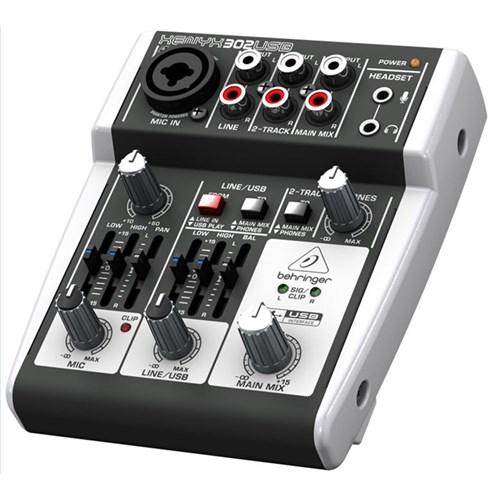 behringer xenyx 302usb 3 input mic line mixer w usb analogue mixers store dj. Black Bedroom Furniture Sets. Home Design Ideas
