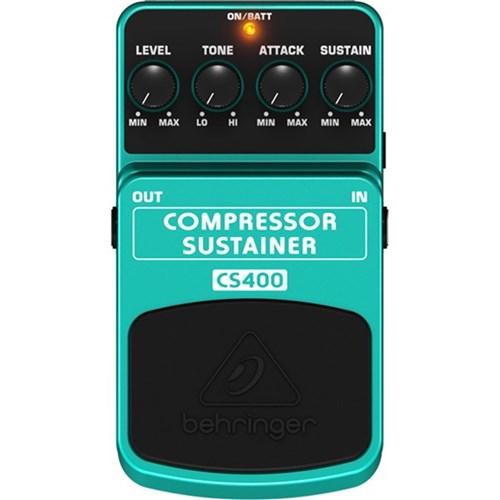 behringer cs400 compressor sustainer effects pedal guitar pedals effects store dj. Black Bedroom Furniture Sets. Home Design Ideas