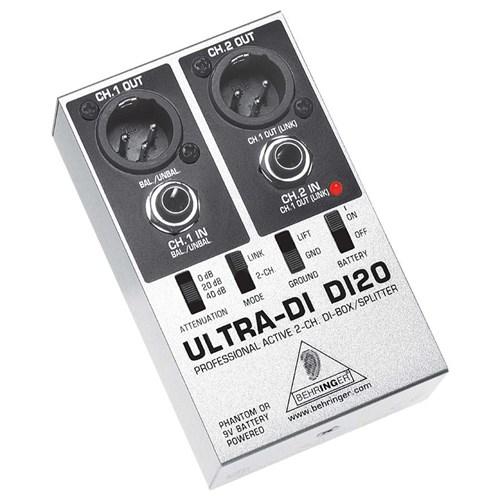 Behringer Ultra-DI DI20 2-Channel DI-Box/Splitter