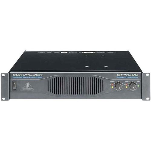 Behringer Europower Ep4000 4000w Power Amplifier