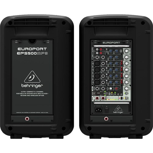 Behringer Europort EPS500MP3 500W Portable PA System w/ MP3
