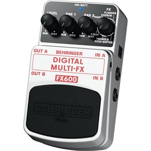 behringer fx600 digital multi effects pedal guitar pedals effects store dj. Black Bedroom Furniture Sets. Home Design Ideas