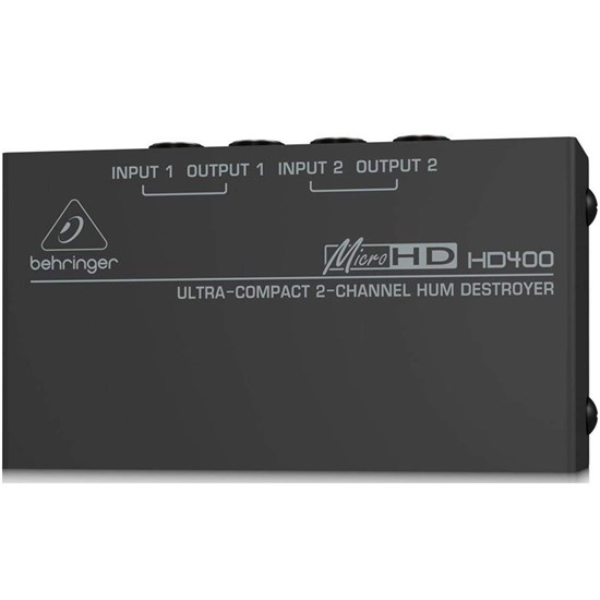 Behringer MicroHD HD400 Hum Destroyer