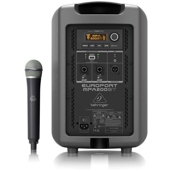 Behringer Europort MPA200BT 200W Speaker w/ Wireless Mic