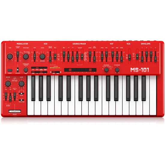 Behringer MS101 Analog Synth w/ 32 Full-Size Keys & 3340 VCO