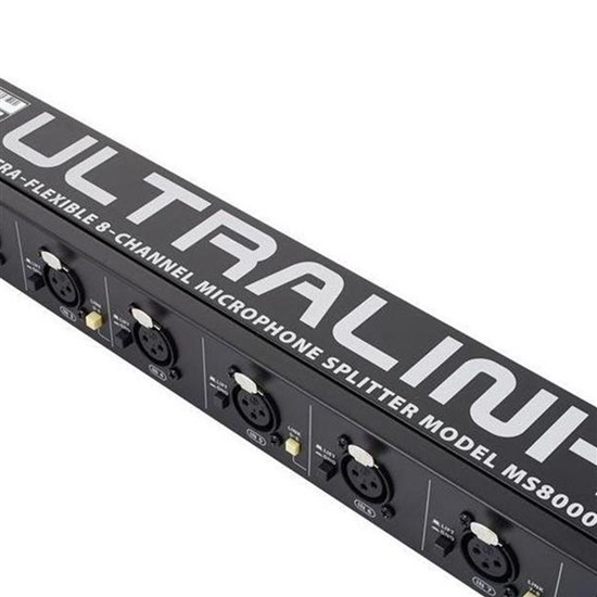 Behringer Ultralink MS8000 8-Channel Mic Splitter
