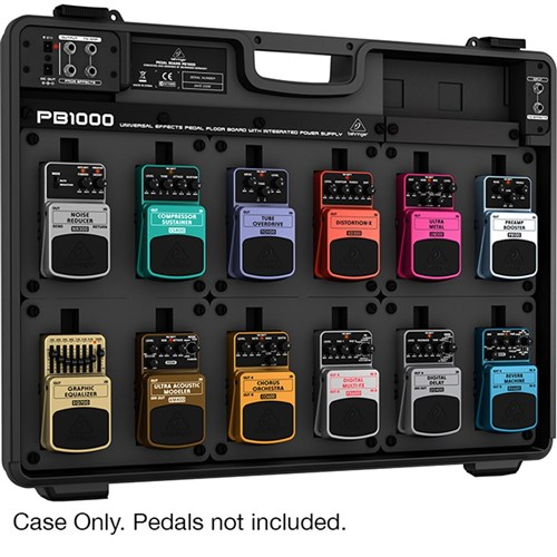 behringer pb1000 effects pedal floor board guitar pedals effects store dj. Black Bedroom Furniture Sets. Home Design Ideas