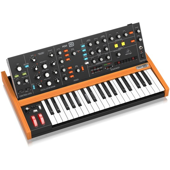 Behringer POLY D Analog 4-Voice Polyphonic Synth w/ 37 Full-Size Keys