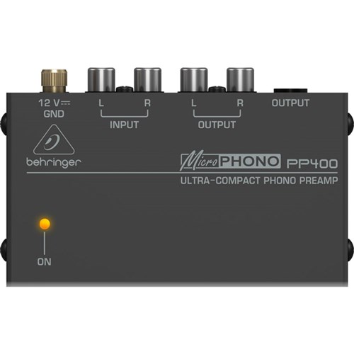 Behringer Microphono PP400 Phono Preamp