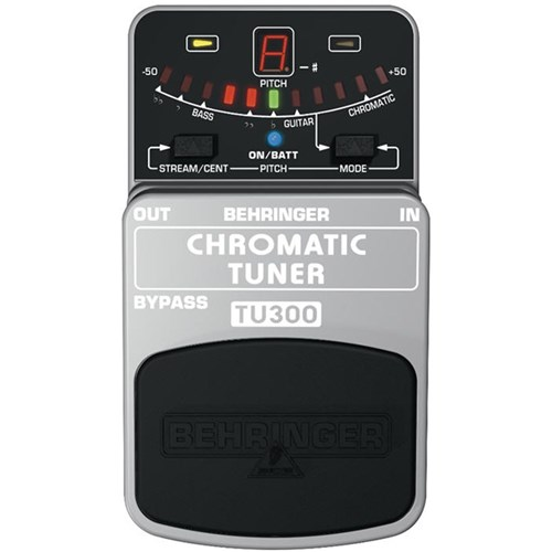 behringer tu300 chromatic guitar bass tuner guitar pedals effects store dj. Black Bedroom Furniture Sets. Home Design Ideas