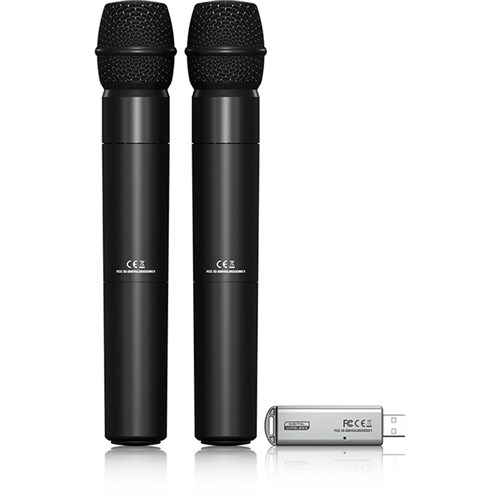 Behringer Ultralink ULM202USB Dual Wireless Mic System w/ USB Receiver