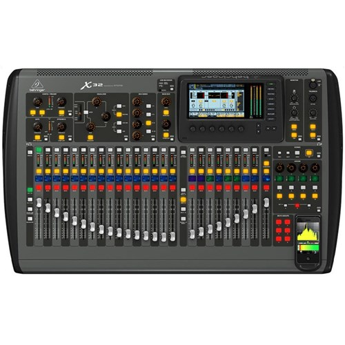 behringer x32 40 input 25 bus digital mixing console digital mixers store dj. Black Bedroom Furniture Sets. Home Design Ideas