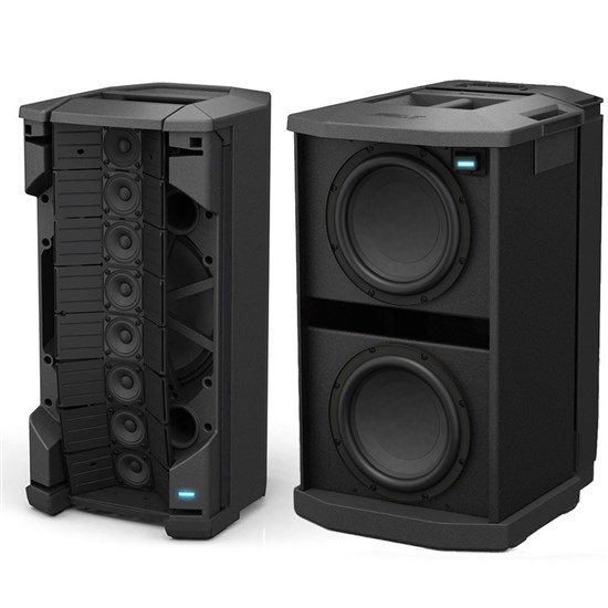 Bose F1 812 Flexible Array PA Speakers x2 w/ 2x F1 Subs