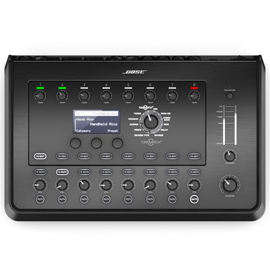 Bose T8S ToneMatch 8-Channel Mixer for F1 & L1 Portable PA Systems