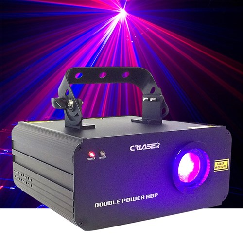 CR Double Power Red, Blue, Pink Laser (150mw R + 500mw B)