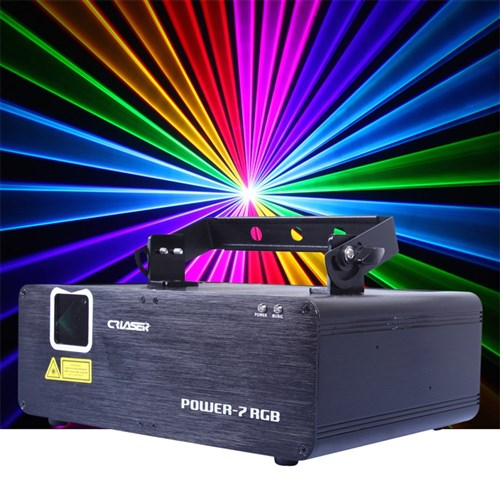 CR Power 7 RGB Laser (500mw R + 150mw G + 400mw B) | Lasers