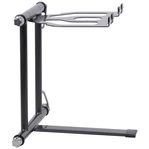 crane stand plus laptop dj stand grey laptop player stands store dj. Black Bedroom Furniture Sets. Home Design Ideas